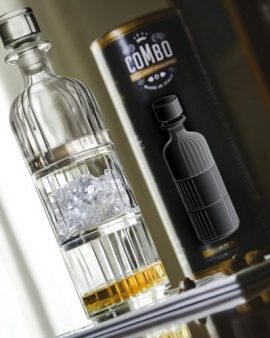 Combo Stackable Whisky Decanter