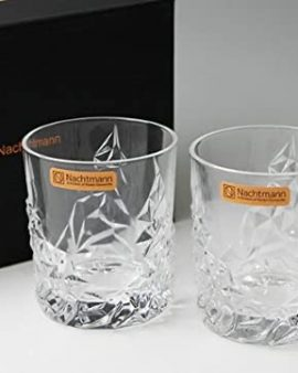 Pair of Nachtman Sculpture Tumblers