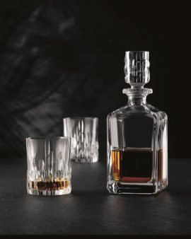 Nachtman Crystal 3 Piece Shu Fa Decanter Set