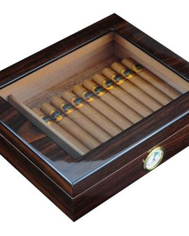 Cedar humidor – Holds 30 Cigars- Perfect Gift for any cigar lover